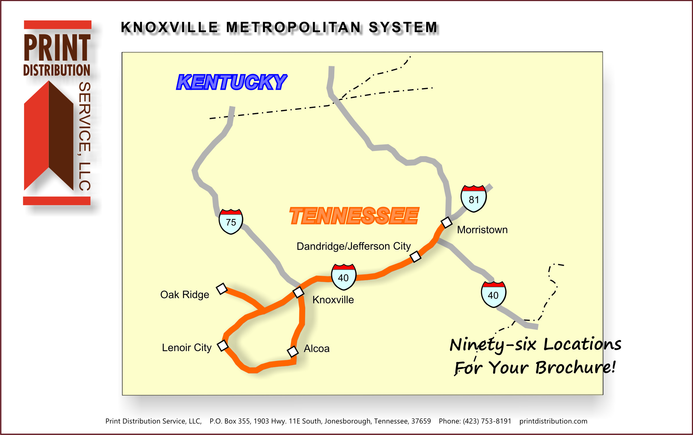 Knoxville Tennessee Metropolitan System