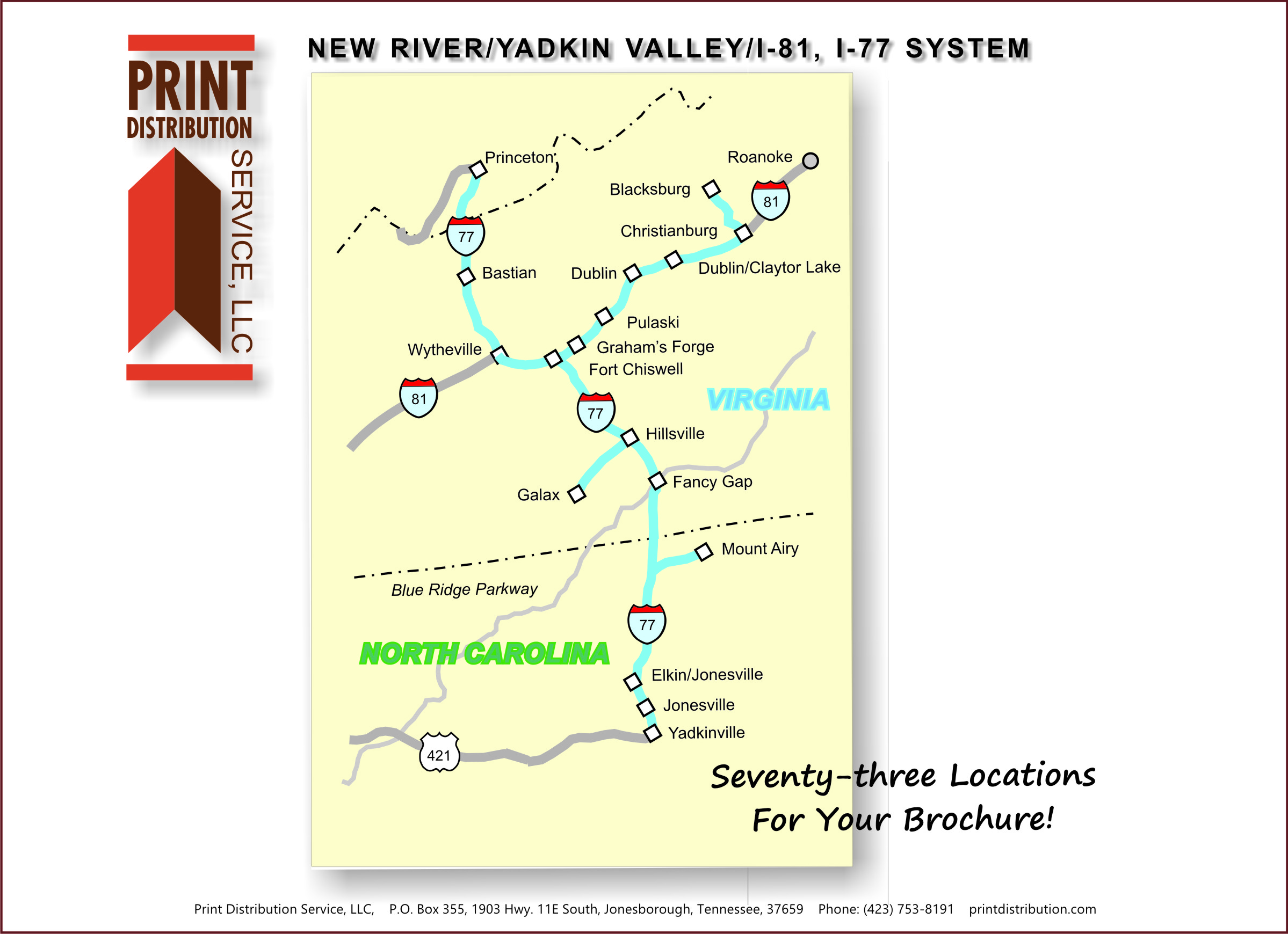 New River Valley/ Yadkin Valley System
